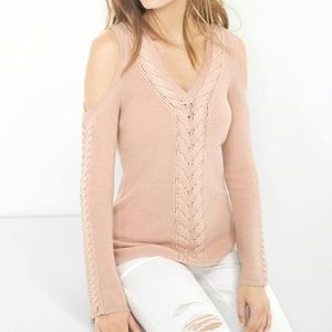 WHBM   Cold Shoulder Sweater